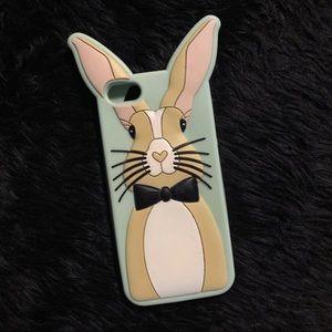 Moschino bunny iPhone case